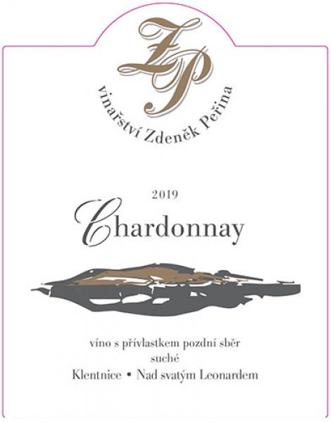 Chardonnay 2019, víno s přívl. pozdní sběr