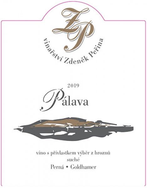 Pálava 2019, víno s přívl. výběr z hroznů