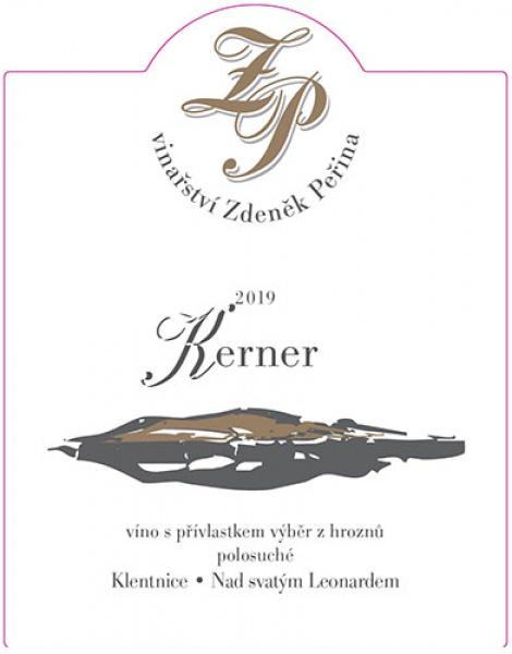 Kerner 2019, víno s přívl. výběr z hroznů