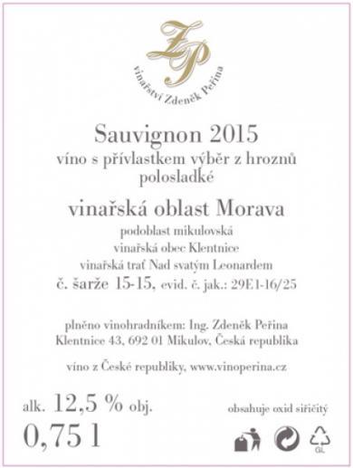 Sauvignon 2015
