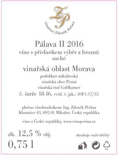 Pálava II 2016
