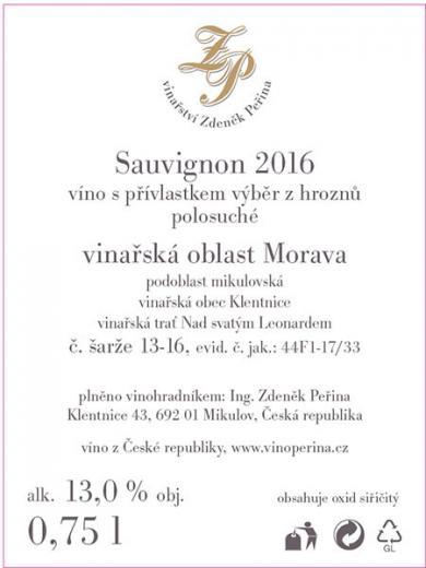 Sauvignon 2016