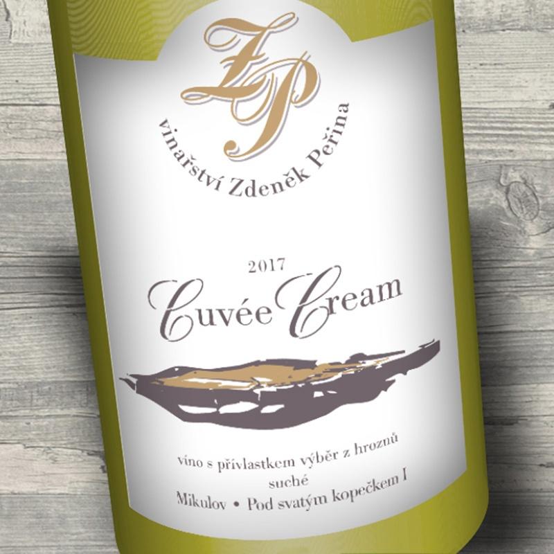 Cuvée Cream 2017, víno s přívl. výběr z hroznů