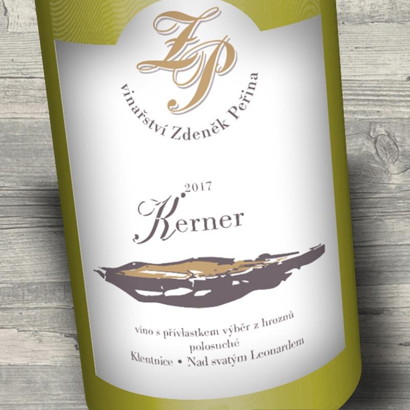 Kerner 2017, víno s přívl. výběr z hroznů