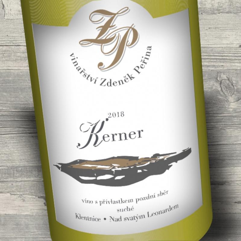 Kerner 2018, víno s přívl. pozdní sběr